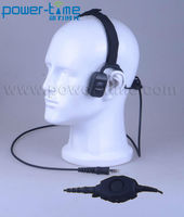 Waterproof headset Two Way Radio Accessories for GP68/SP10/SP21/SP50 GP88s for gun holster for cars(PTE-570)
