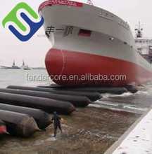 Dia 1.5m 6 layers Natural rubber ship rubber airbags export to Batam shipyard