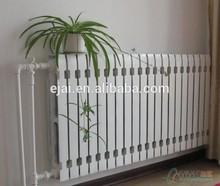 agua caliente de aluminio de fundición o de radiadores radiadores bimetálico para sala de calefacción