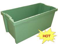 cheap price seafood storage box plastic fish crates