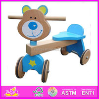 2015 New style kids Wooden tricycle,popular wooden tricycle and hot sale wooden tricycle with best price W16A011-x