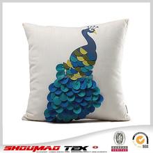 Fashion decorative embroidered cushion