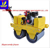 front wheel vibrates double drum vibratory road roller