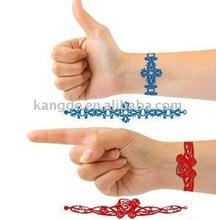 2012 Christmas ornament hollow silicone bracelet