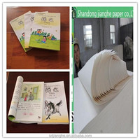 uncoated Suitable for printing books Woodfree Offset Printing Paper