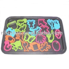 Disney Audit variety shape plastic Cookie Cutter