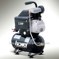 CE fini small mini ac air compressor portable 220V for aribrush LW-2012 from china manufacturer