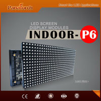 PanaTorch 2015 New Inventions HD LED Screen Panel reliable and safe IP43 Waterproof P6 RGB
