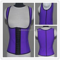Fitness GaineLatex Vest Waist Trainer Corset Women Slimming Body Shaper Rubber Corsets