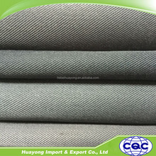 china supply 100% cotton twill 1/3 fabric 185-285gsm