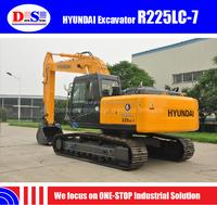 China Made 2015 New 22 ton Crawler Excavator R225LC-7 - Hyundai 210 Excavator