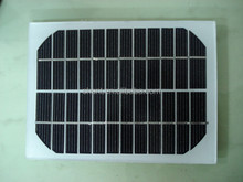 Factory supply solar energy products 3w single crystal silicon solar panel with 18 pcs batteries
