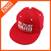 adjustable customized flat brim cap and hat snapback casqutte