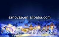 Decorative Lighted Christmas LED Canvas