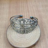 70*60mm vintage brass oval base tray bezels bracelet blank,antiqued bronze bracelet cuff tray bezels 1900010