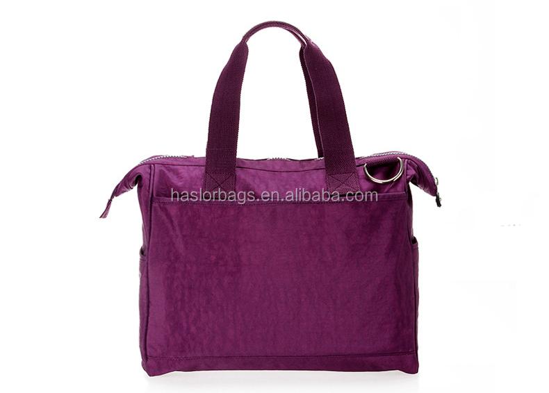 2015 mode multi - poche haute capacité nylon sac de bébé pour maman shopping