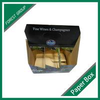SRTONG CARDBOARD 6 PACK BOTTLE CARRIER PAPER WINE BOX