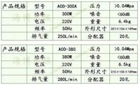Хейли aco-380 aco-300a ac электромагнитный воздушный компрессор 380w/300w рыбы пруд красный кислорода насос