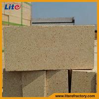 Types of glass fusing kiln refractory bricks silica brick