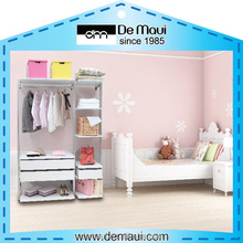 High Quality White Wardrobe Kid Furniture Bedroom