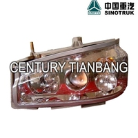 Heavy truck cabs parts Howo Truck WG9719720001 HEAD LAMP for sale
