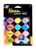 12color*5ml Neon+Glow in the dark acrylic paint