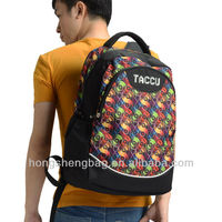 Printing Computer Backpack Laptop Compartment Bags for University Student Taccu TBP502