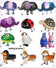2013 Hotsale Walking Animal Cartoon Helium Foil Balloon,animal walking balloon,walking pet balloon