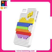 educational toy blocks 4S iPhone case phone toy block loz diamond block building blocks toys