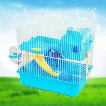 wheel water bottle mini house Portable Double Hamster Cage Small animal cage