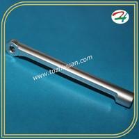 CNC aluminium part with Matt chrome plating