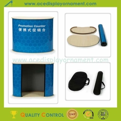 Promotion Table,Promotion Counter with wooden top