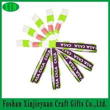 Fashion festival custom fabric hand band/ wrist band for event