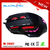 Glowing Breathing LED 7D Professional 2800 DPI Optical Gaming Mouse