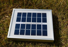 Tempered glass laminated solar panel,module