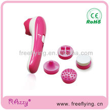 Home use mini facial massager cleaning set