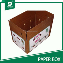 CORRUGATED WAX PACKAGING/ SHIPPING BOX FOR VEGETABLES AND SEAFOOD