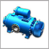 Marine cargo oil pump / heating asphalt bitumen double two screw pump