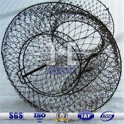 Wire mesh Collapsible fish shrimp crab cage/trap