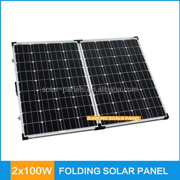 2015 Hot Sale Folding Solar Panel 200w For Camping,Caravanning,Rv ...