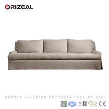 Orizeal Fabric Roll Arm Sofa, Living Room Sofa Set(OZ-FS-2009)
