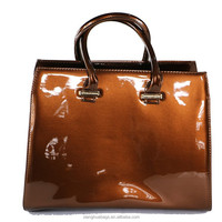 China newest wholesale exported trendy leather handbag for women