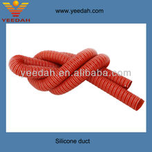 Double layer high temperature silicone hose pipe