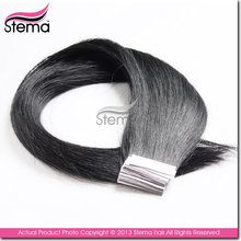 best quality 6a High quality micro links 100% virgin remy hair extension,Virgin human hair clip in hair extentions