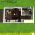 heiße verkäufe hochwertigen fertighaus versandbehälter mobile haus modular