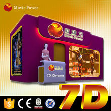 New entertainment 7d theatre 5d/6d/7d cinema manufacture 5d motion cinema