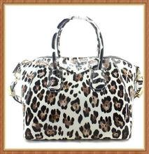 De lujo de alta- final de diseño de leopardo bolsos de cuero de patente leopardo bolsa de bolsas