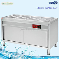 Free Standing Table Top Electric Food Warmer/Snack Bain Marie Machine/Commercial Buffet Kitchen Equipment