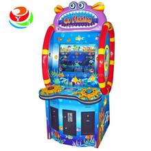 attractive ticket redemption amusement machine for children Go fishing