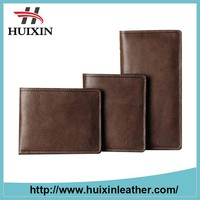 Newly Factory Original business Leather Men Wallet
